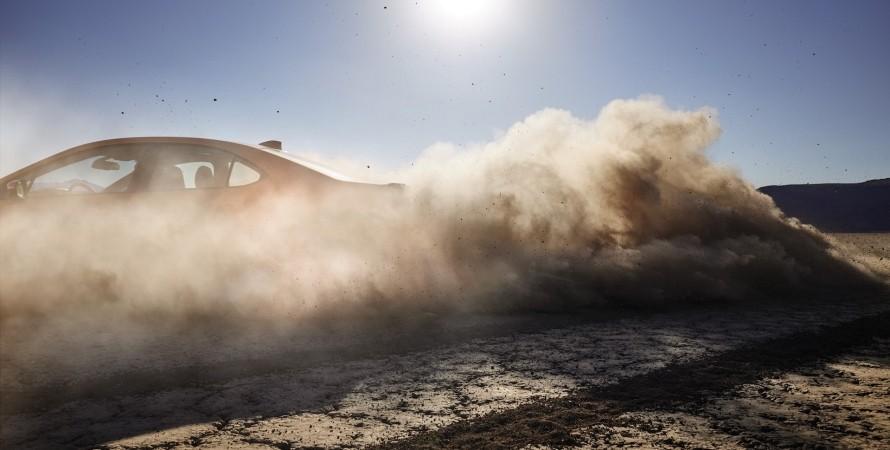 тизер новый Subaru WRX