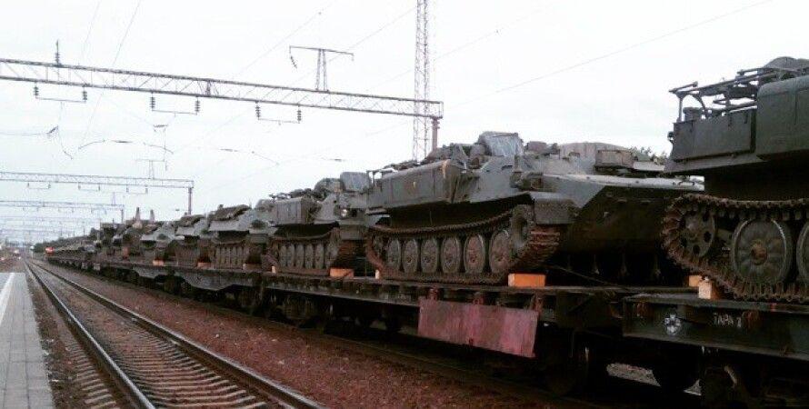 Российская военная техника на границе с Украиной / Фото: Вконтакте