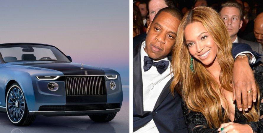 Rolls-Royce Boat Tail Бейонсе и Jay-Z
