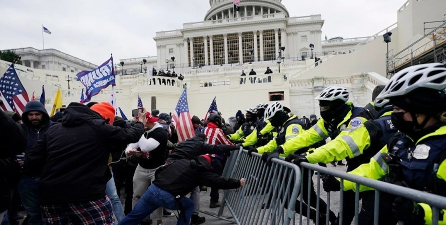 Капітолій, штурм, учасники протесту, поліція,