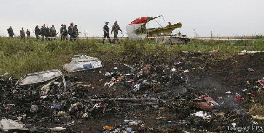 На месте крушения Боинга / Фото: Telegraf-EPA