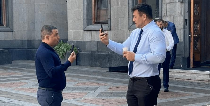 Микола Тищенко й Олександр Куницький