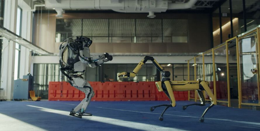 Boston Dynamics, роботы