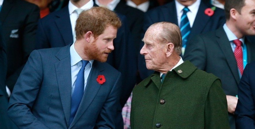 Принц Гарри, Принц Филипп, королевская семья, герцоги