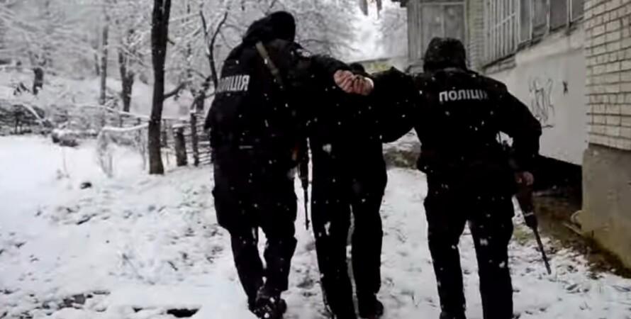 Поліція, затримання, поліцейські