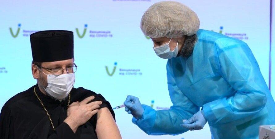 коронавірус, вакцинація, релігія, лідери, публічно, Covishield, фото