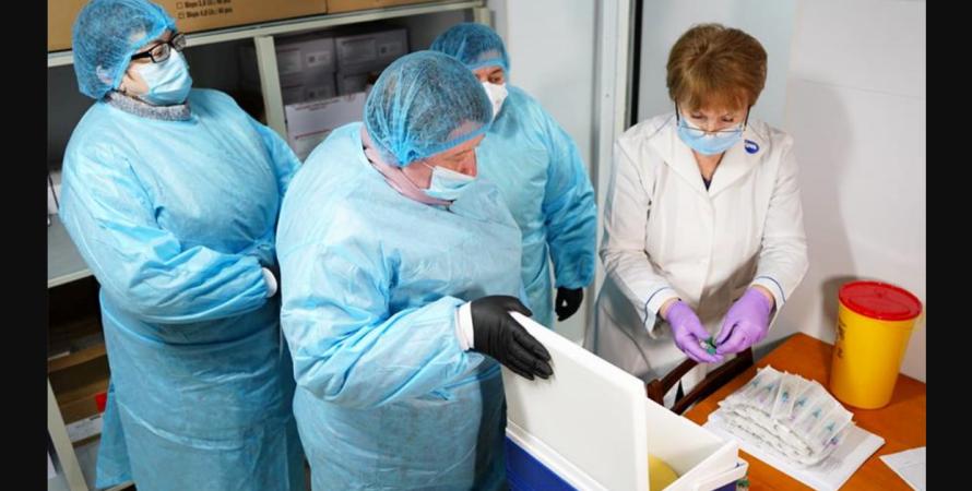 вакцинація, Україна, киев, статистика, коронавірус, фото