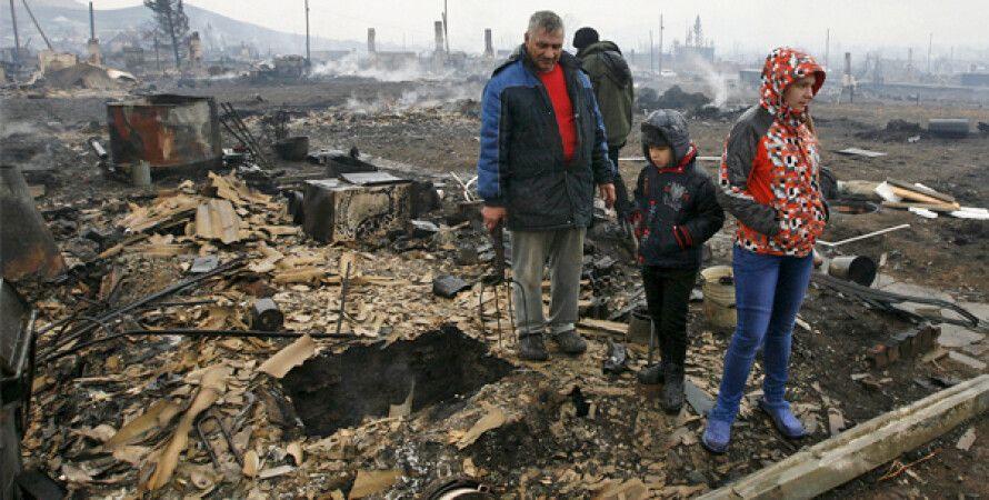 Последствия пожаров в Хакасии / Фото: Reuters