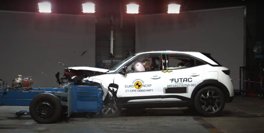 Opel Mokka и Renault Kangoo получили по четыре звезды в тестах Euro NCAP