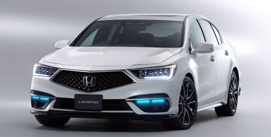 Honda, Honda Sensing Elite, автопилот, Honda Legeng