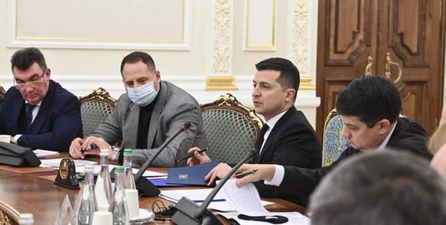 ОП, украинцы, США, санкции, заседание,