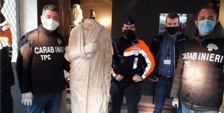 статуя, карабінери, Італія