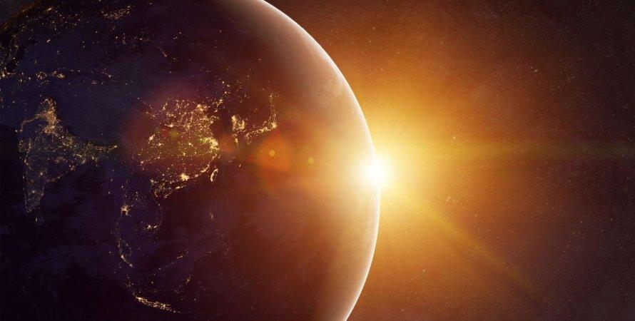 космос, Земля, Солнце, фото