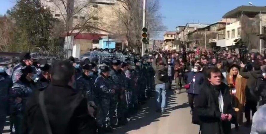 Ереван, протест, Армения