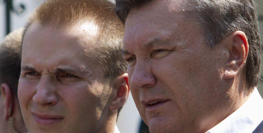 Александр Янукович и Виктор Янукович / Фото: Reuters