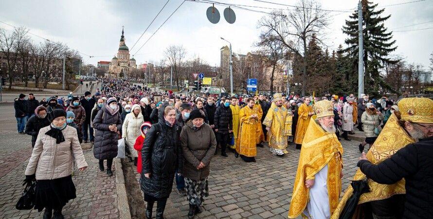 крестный ход в харькове, рцп в украине