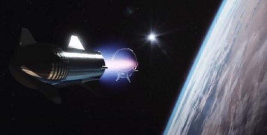 Ракета на орбіті