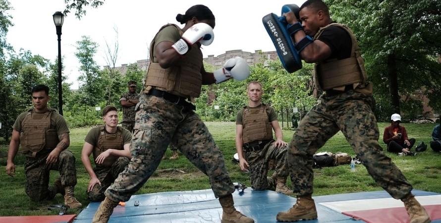 США, ВМС, спецназ, тренировка,