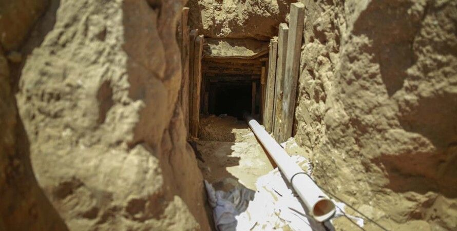 Тоннель из Газы, подземный тоннель, подземный забор, израиль, газа