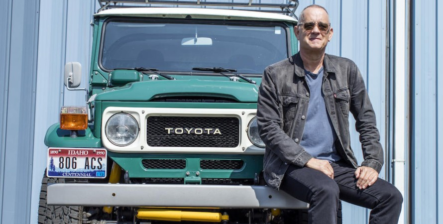 Toyota Land Cruiser Том Хэнкс