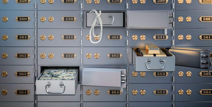 описание банковской ячейки, банк, фото
