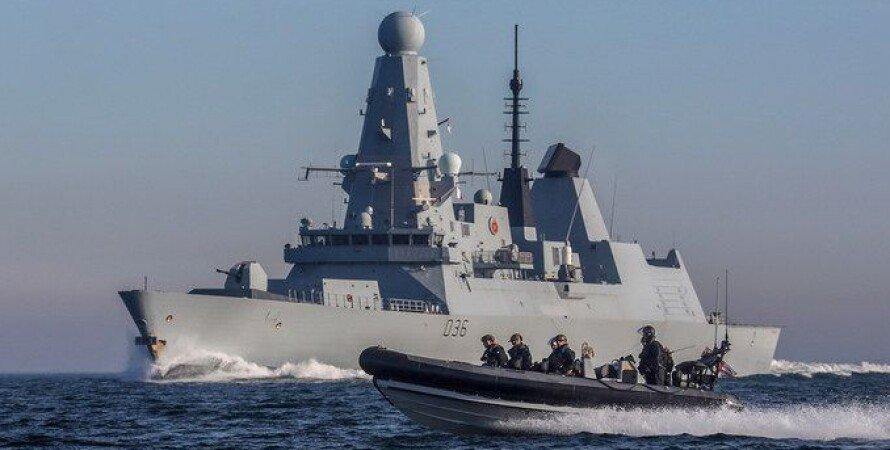 эсминец Type 45, фрегат Type 23, британские корабли, флот великобритании, поддержка украины, черное море