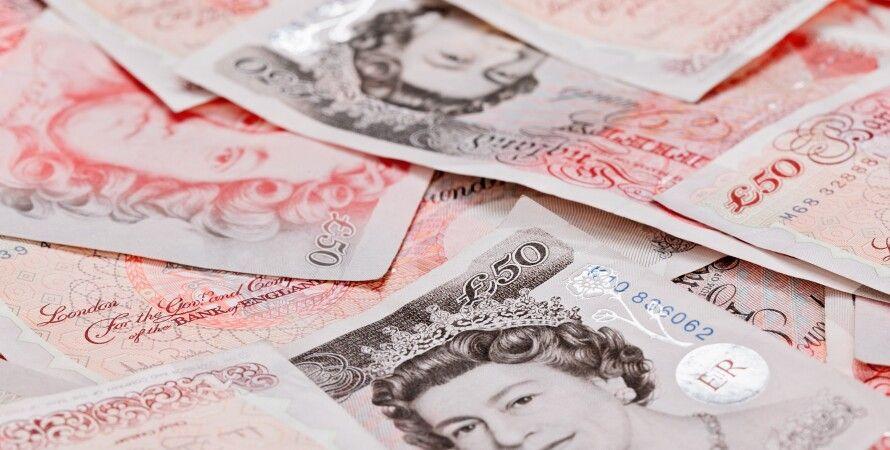 фунты стерлингов, деньги, Великобритания