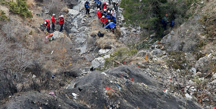 Место катастрофы А320 / Фото: EPA/ТАСС