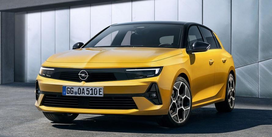 Представлений Opel Astra нового покоління