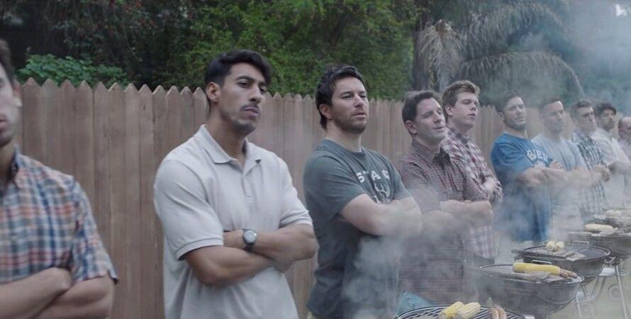 Скриншот из видео Gillette