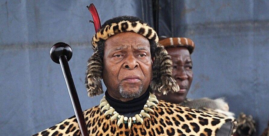 ПАР, зулуси, король, Гудвіл Звелітіні, помер,