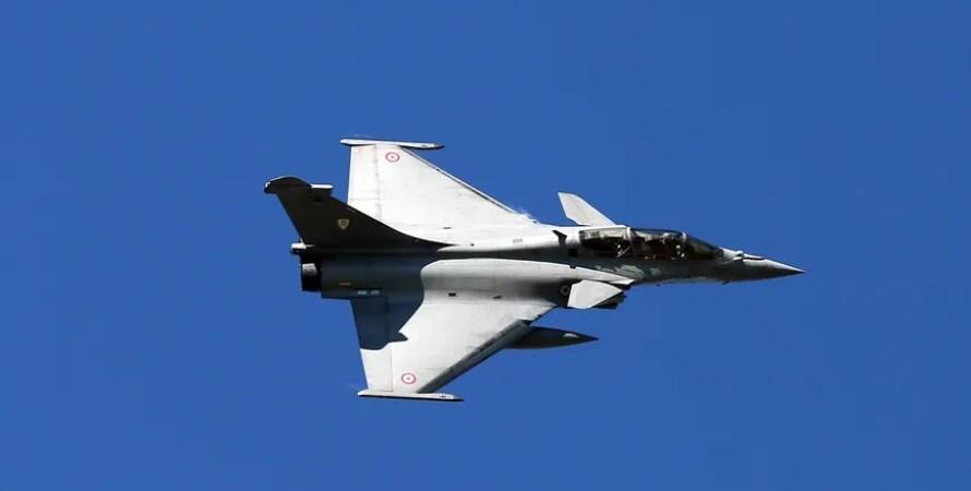 истребитель, провода, оборвал, франция, Dassault Rafale, фото
