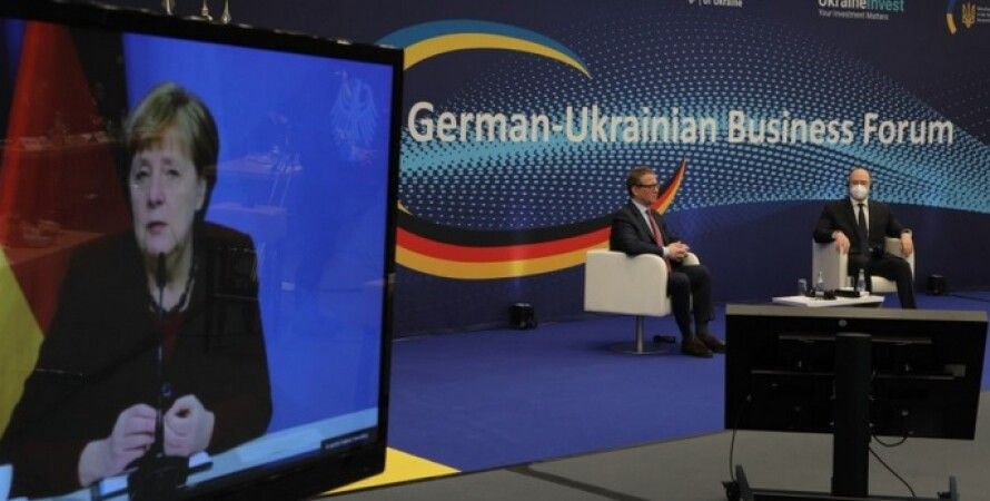 Ангела Меркель, бізнес-форум, корупція, Німеччина, Денис Шмигаль, Володимир Зеленський