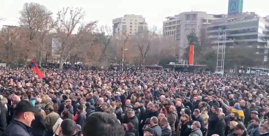 Ереван, митинг, протест