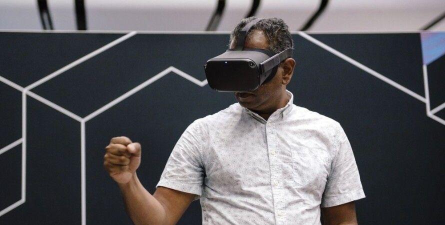 Facebook Oculus, гарнитура, виртуальная, реальность, Apple, VR, шлем