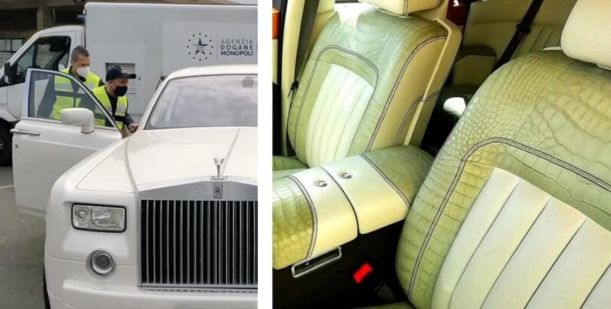 Rolls-Royce конфисковали в Италии