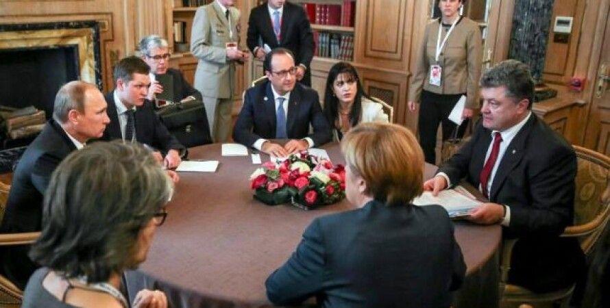 """Переговоры в """"нормандском формате"""" / Фото: ZN.ua"""