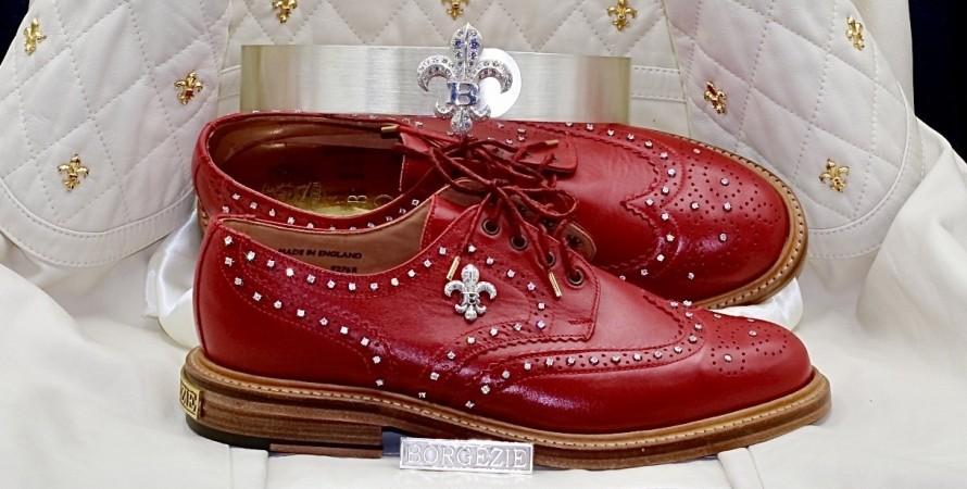 Дом Боргезе, House of Borgezie, броги, обувь, мужская обувь, туфли, мужские туфли, бриллианты
