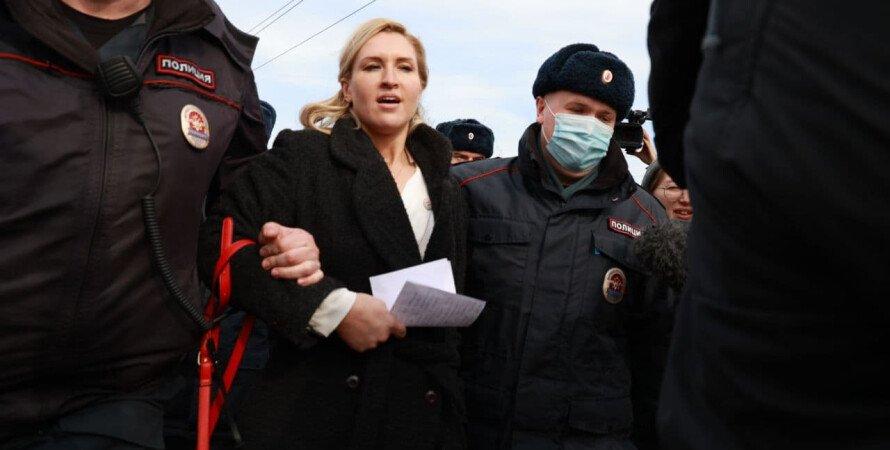 анастасия васильева, задержание, алексей навальный