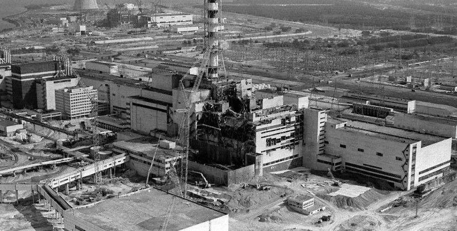 Разрушенный 4-й энергоблок ЧАЭС