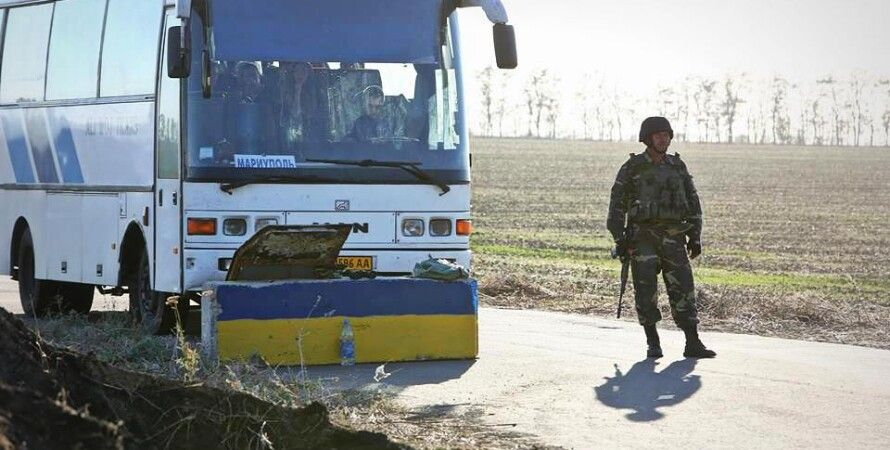 Украинский блокпост под Мариуполем / Фото: facebook.com/ato.news