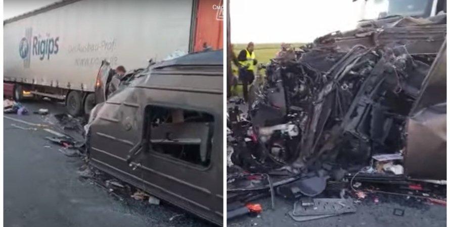 ДТП, ДТП з українцями, аварія з українцями в Румунії, Румунія ДТП з українцями