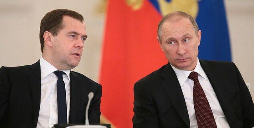 Владимир Путин и Дмитрий Медведев / Фото: пресс-служба Кремля