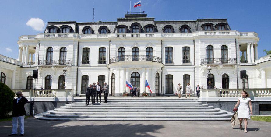 Посольство России в Праге. Фото: Hospodarske Noviny