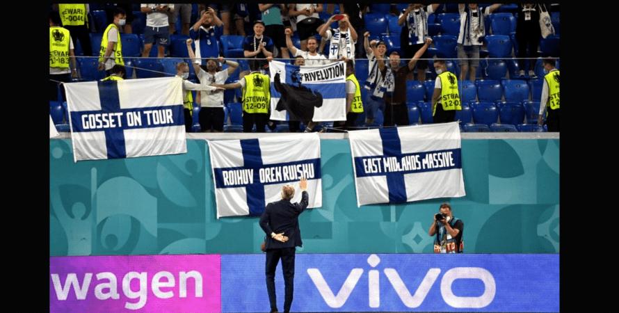 футбол, болельщики, финляндия, фото