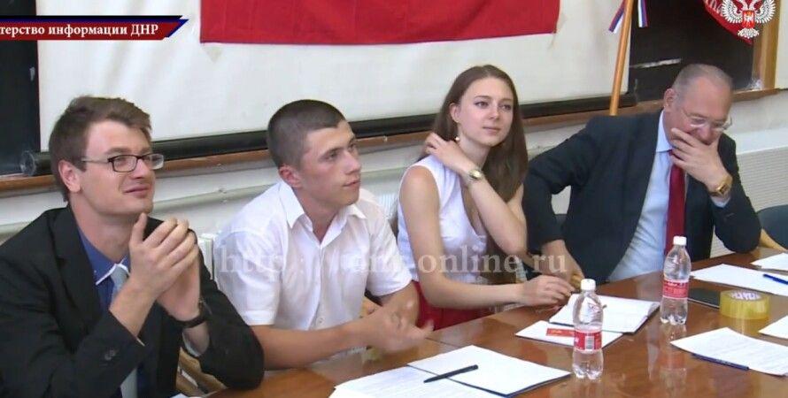 """""""Комсомол ДНР"""" / Фото: кадр из видео Youtube"""