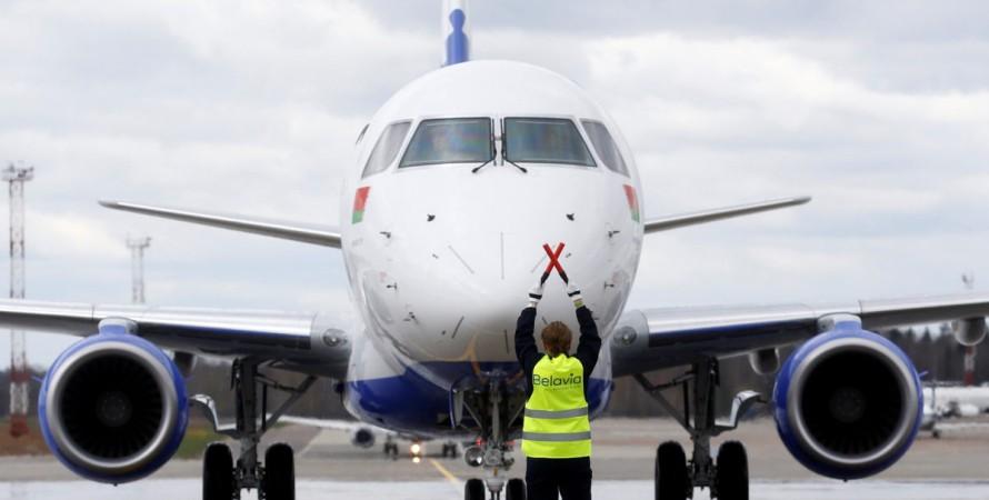 Самолет, Белавиа