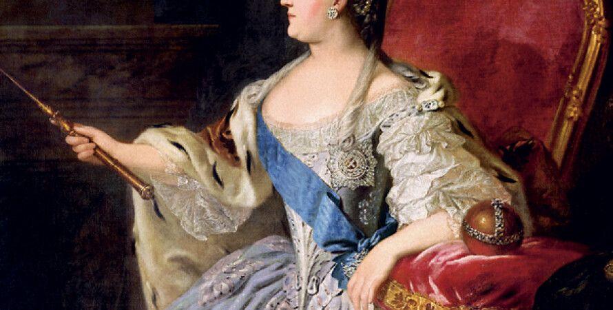 Екатерина II отблагодарила графа Потоцкого за предательство родины орденом Святого Андрея Первозванного