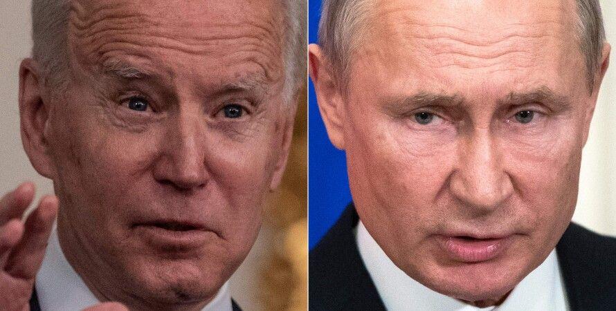 Джо Байден, Владимир Путин