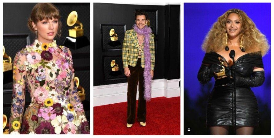 Червона доріжка Grammy, колаж